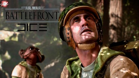 Первое видео игры Star Wars Battlefront DICE