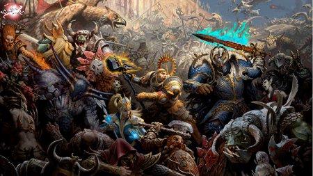 Total War Warhammer трейлер первой фэнтези RTS от SEGA