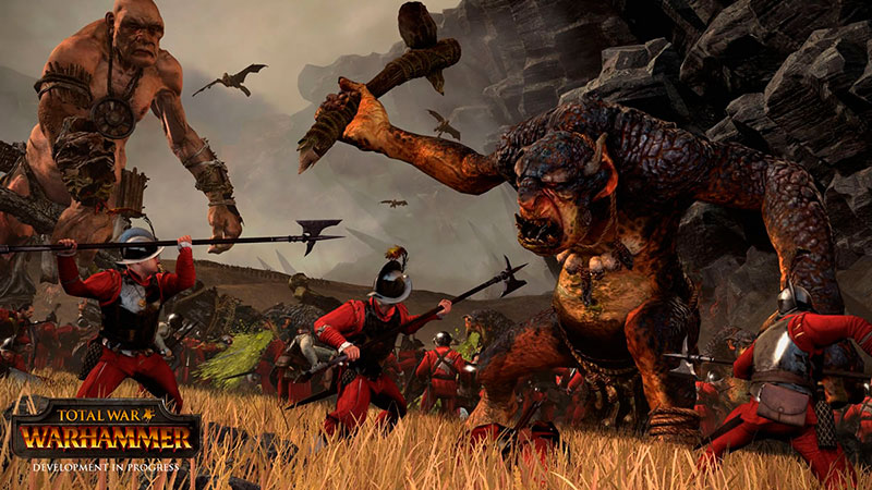 Об игре Total War Warhammer 2015 года новая информация с Е3