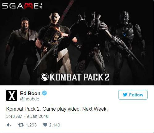 В Mortal Kombat X Чужой скоро покажет свои способности