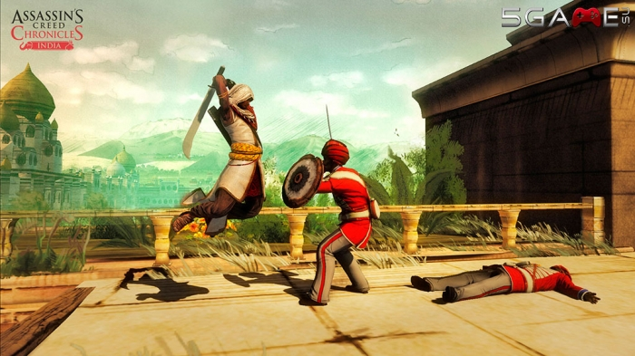 Assassins Creed Chronicles India трейлер геймплея