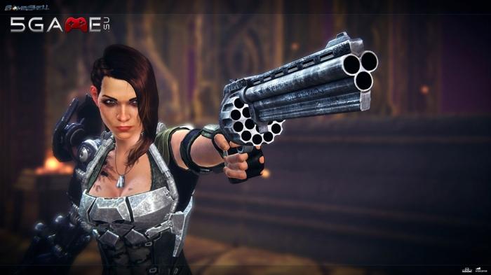 Bombshell игра в жанре action RPG с изометрической камерой