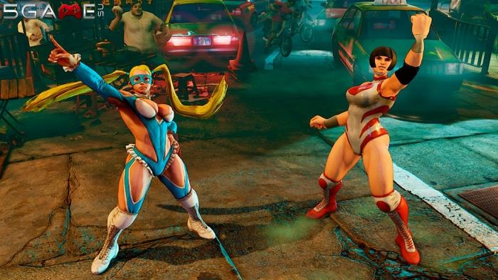 Персонажи Street Fighter V в новом трейлере