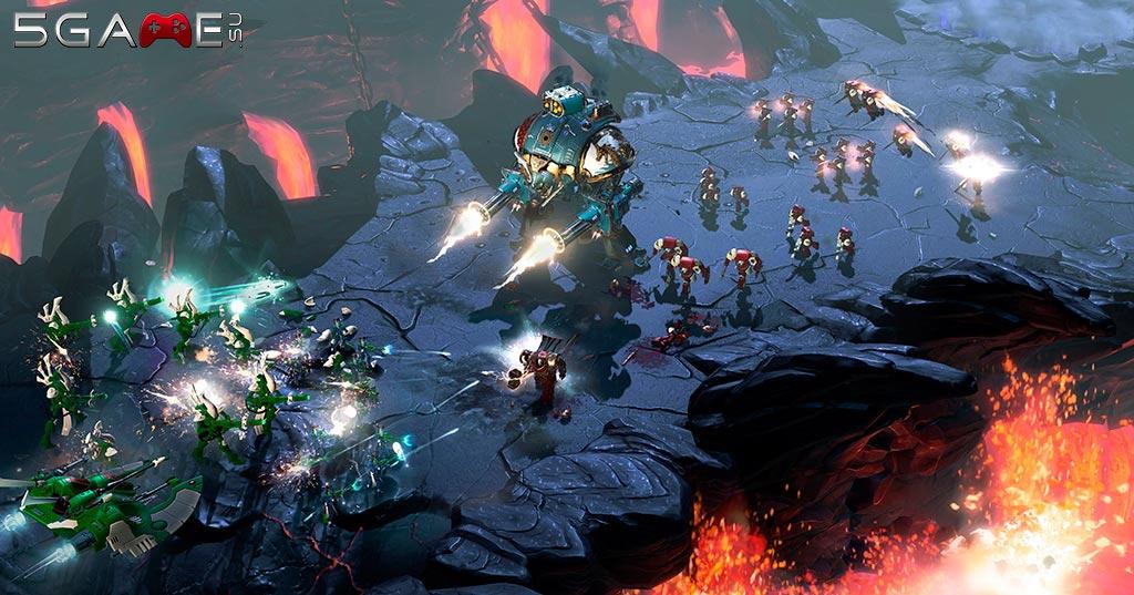 В стратегии Warhammer 40000 Dawn of War 3 расы сильно ограничены