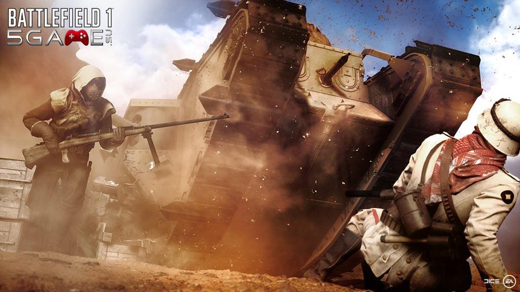 В Battlefield 1 Российская Империя и Франция не попали