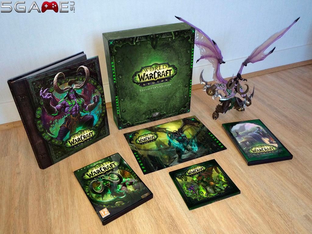 World of Warcraft Legion коллекционное издание в продаже