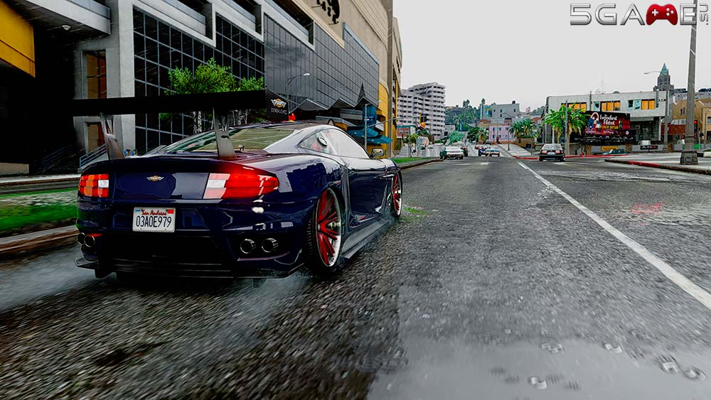 Графический мод GTA 5 Redux скачать уже можно