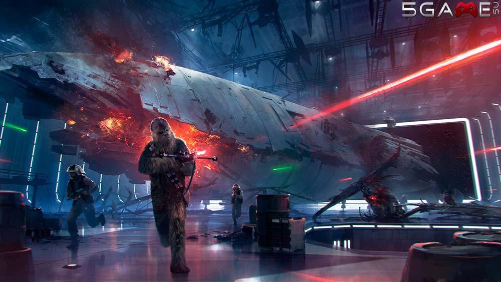 В Star Wars Battlefront Звезда Смерти опубликован геймплей за Чубакку