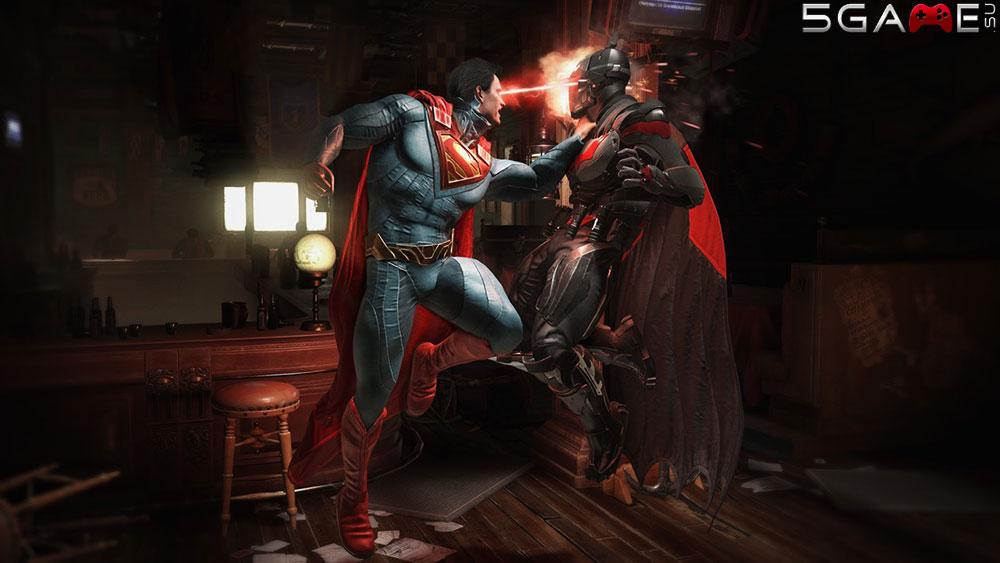 Персонажи Injustice 2 предстали в геймплейном видео